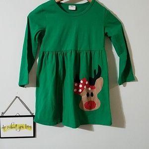 2/$10 Reindeer dress/long shirt